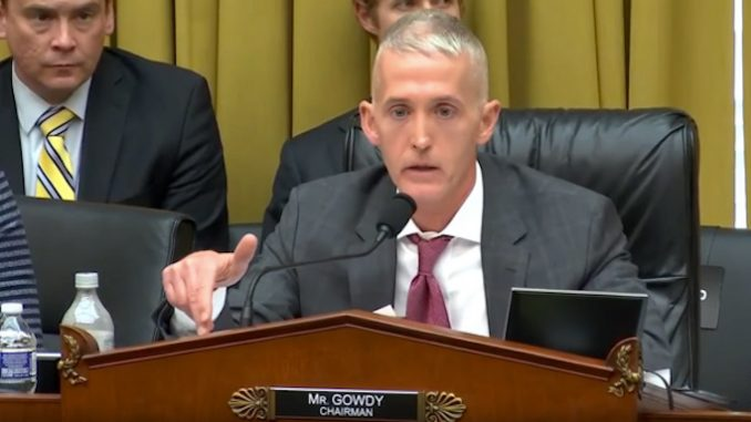 Trey Gowdy Fights Tears As He Vows To Destroy Elite Pedophile Ring