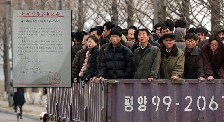 China Preparing For Huge Exodus of North Koreans Fleeing War