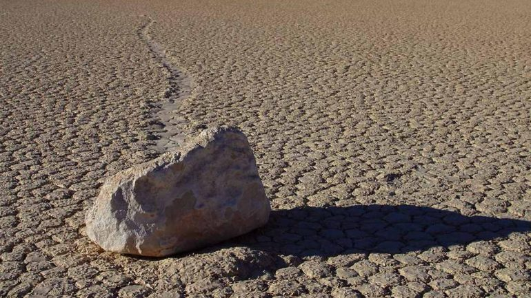 Mysterious Moving Rocks in the Desert Stumped Scientists for 70 Years