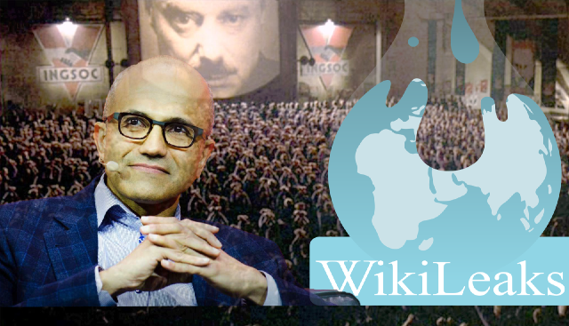 Microsoft Warns of 'Orwellian Future' As WikiLeaks Exposes Participation With Surveillance