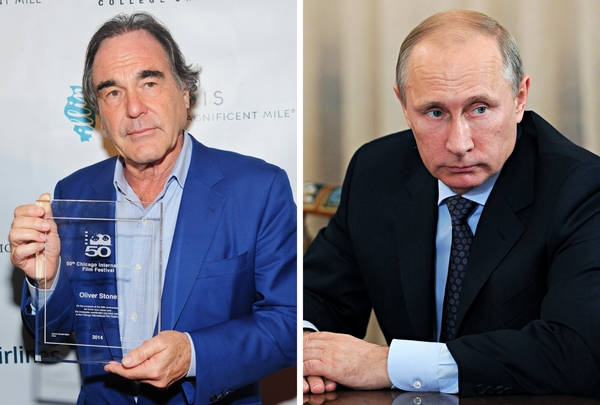 Oliver Stone: Putin Is A Hero, Not Our Enemy