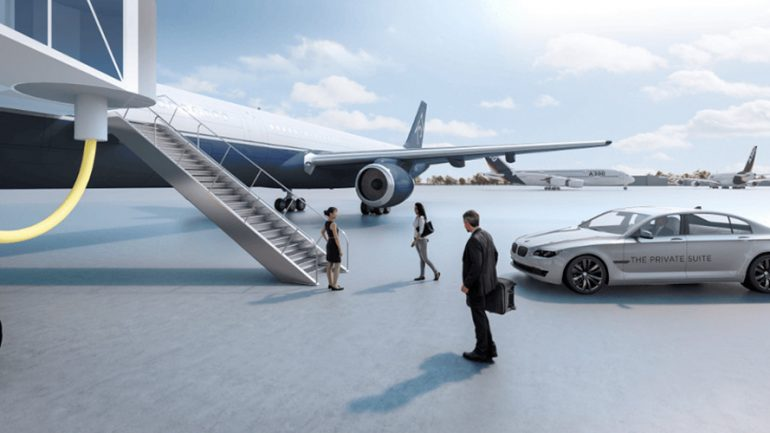 Mega Rich Get Their Own Private Terminal at Los Angeles