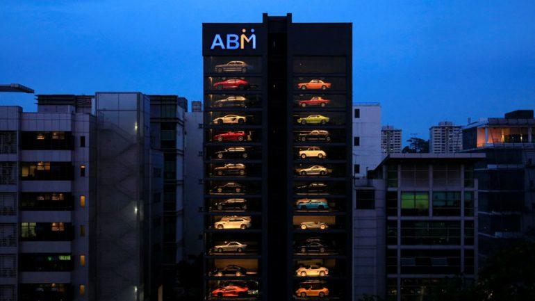 Singapore Luxury Car 'Vending Machine' Dispenses FERRARIS, LAMBORGHINIS and PORSCHES