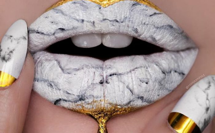 Marble Lips Are The Newest Makeup Trend Going Viral On Instagram