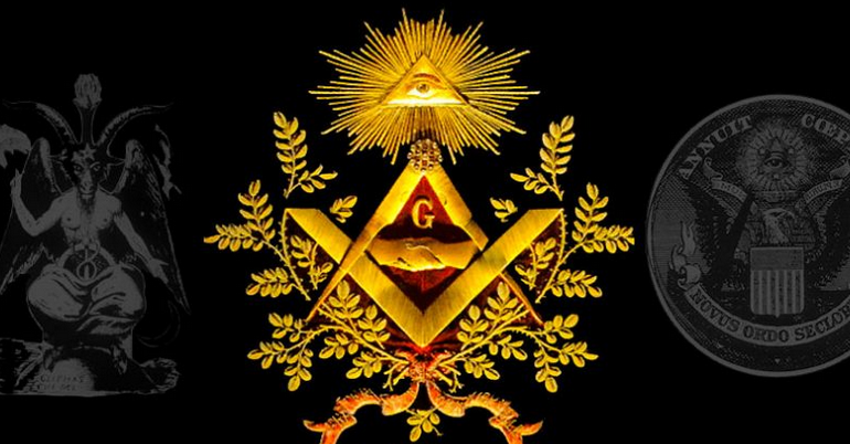 Freemasons Won't Tell You That They Worship Lucifer As The 'Light Bearer of The World'