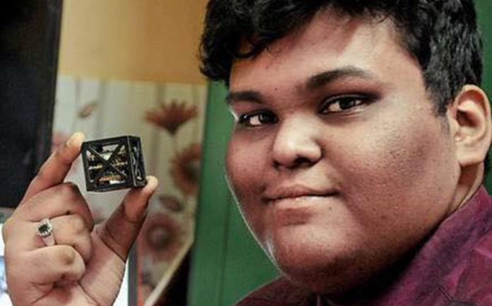 Indian Teen Designs World's Lightest Satellite Weighing Just 64 Grams, NASA Set To Launch It
