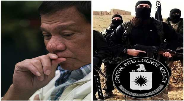 President Duterte: CIA Want To Kill Me For Exposing ISIS As Their Creation