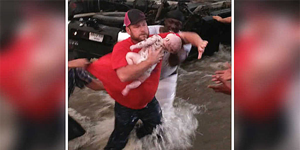 Two Trapped Babies Miraculously Saved After Texans Cry Out To GOD