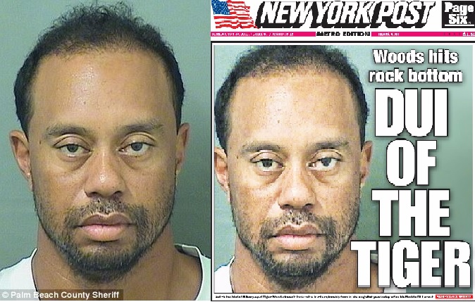 "Tiger Woods Gets Arrested For DUI, Then Says Toxic ""Mix of Medications"" Made Him Drive Like a Dangerous Maniac"
