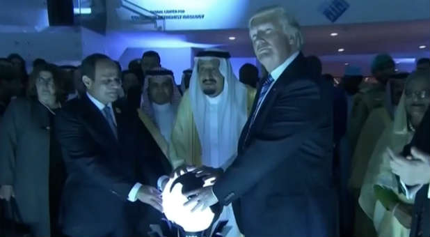 Did Trump's Middle East Visit Fulfill a Biblical Prophecy?