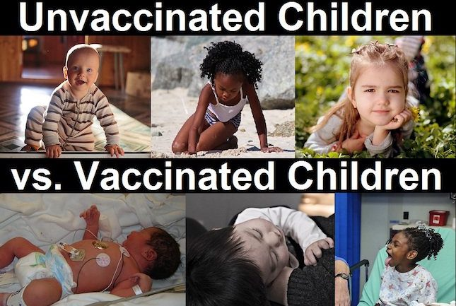 BOMBSHELL: Study Suggests Unvaccinated Could Be Healthier