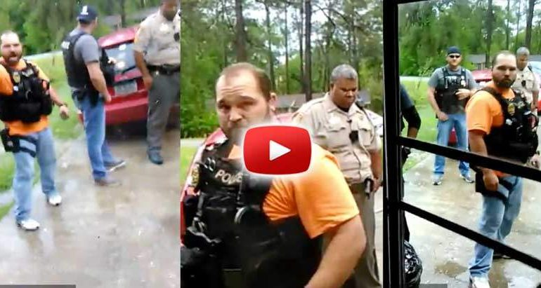 Cop Gets Told He Needs a Warrant — Erupts in Psychotic Fit of Rage