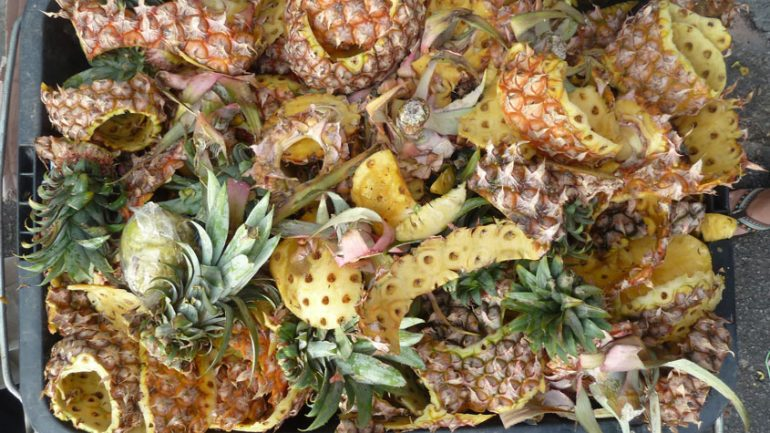 Do Not Throw The Pineapple Peels Anymore, This Is The Reason Why