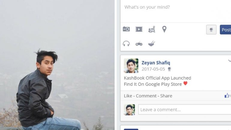 After Govt's Social Media Ban In Kashmir, A Teen Is Ready With His Own Facebook