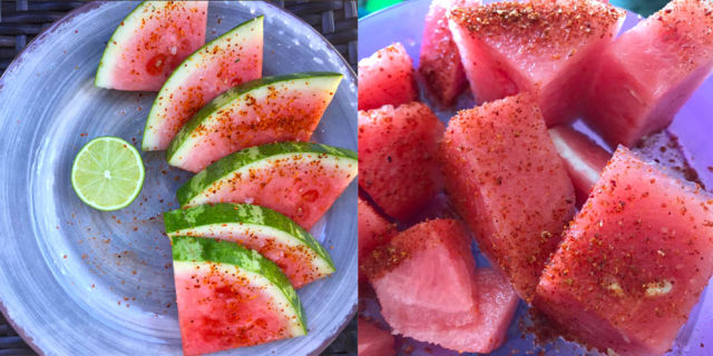 The Weird Thing People Are Sprinkling on Their Watermelon
