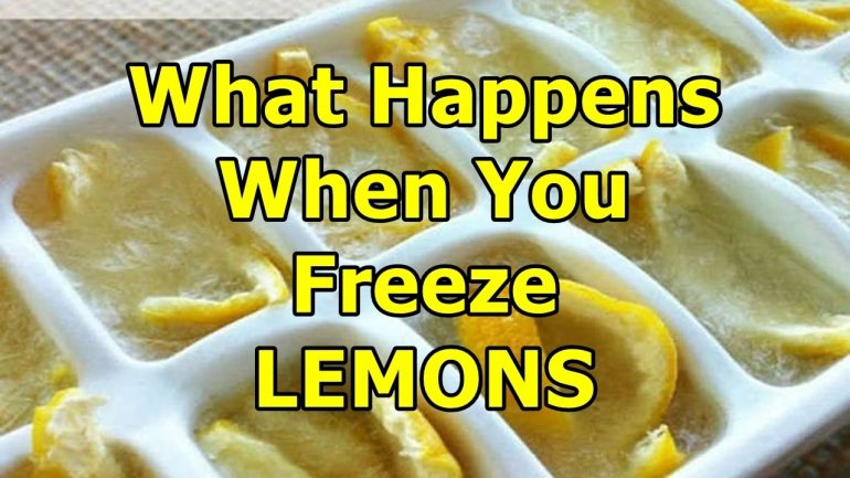 See What Freezing Lemons Can Do And You Will Do This Forever