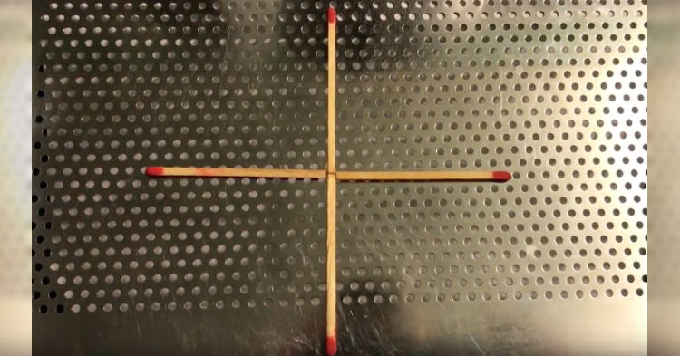 Are You Smart Enough To Figure Out How To Move One Match To Make A Square?