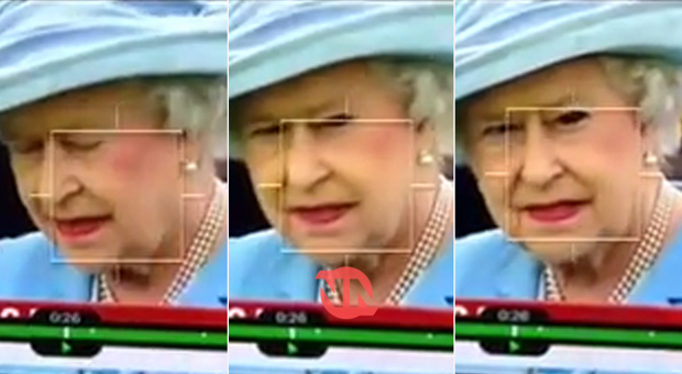 The Queen Caught Shapeshifting Into A Reptile On Live TV