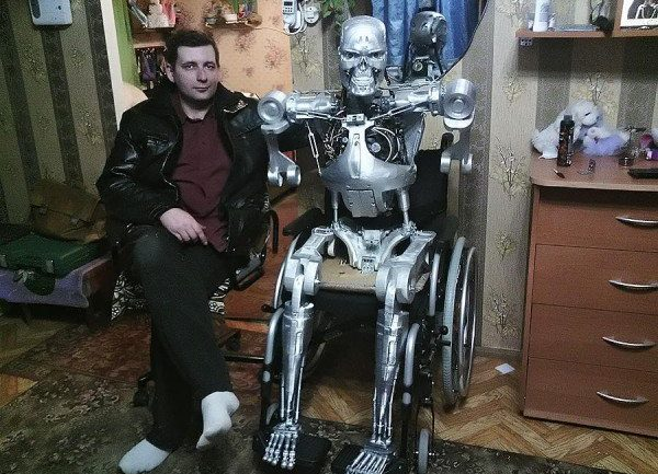 Russian Programmer 3D-Prints His Very Own T-800 Terminator Robot With Artificial Intelligence