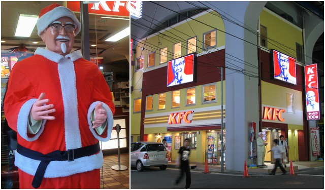Japan is Obsessed With Kentucky Fried Chicken – On Christmas, And It's Kind Of Awesome