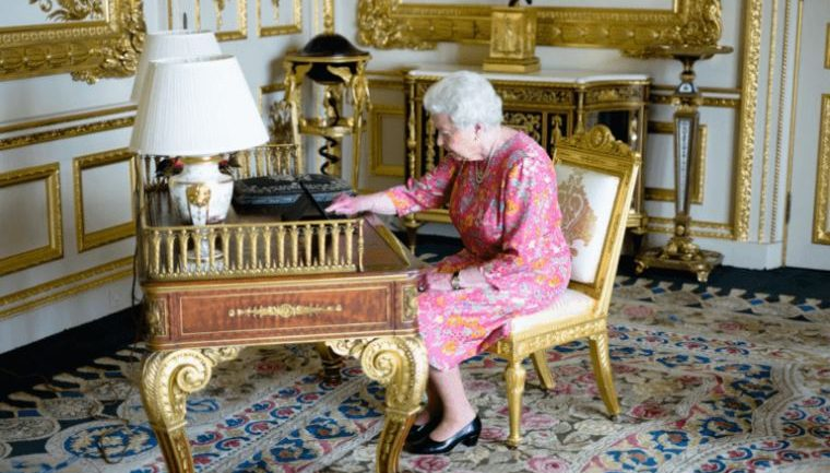 Apparently The Queen Has A Top Secret Facebook Account