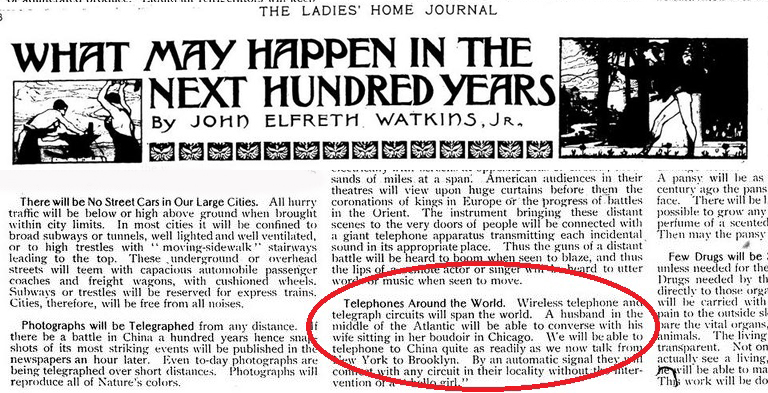 10 Shocking 100-Year-Old Predictions That Came True
