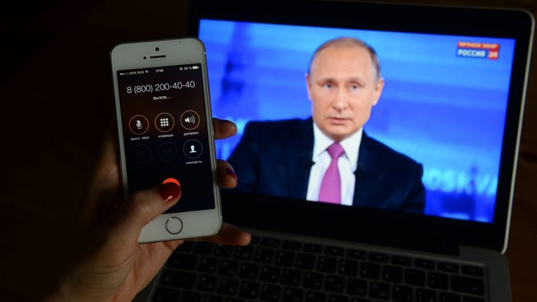 73 Questions in Four Hours: What Russians Asked President Putin