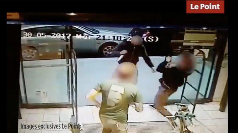 Muslim Robe Wearing Man Stabs Customer Buying Beer In Paris Supermarket (VIDEO)