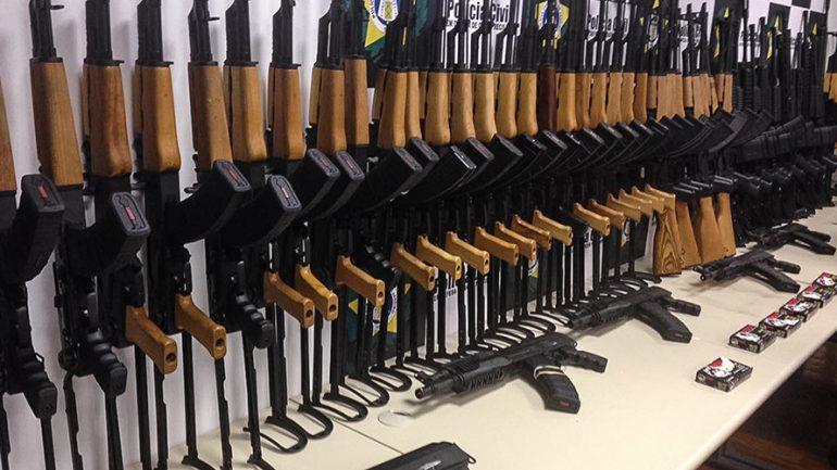 60 Assault Rifles Found Hidden Onboard Miami-Rio Flight