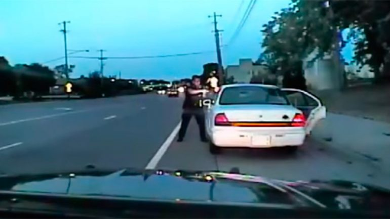 Dashcam Footage of Philando Castile Shooting Released