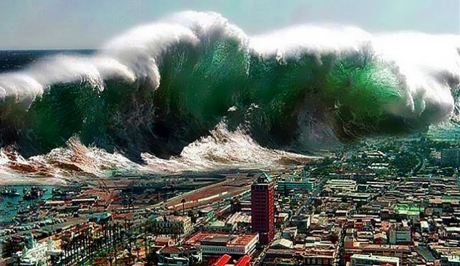 God's Judgment Shows Up On The West Coast of North America