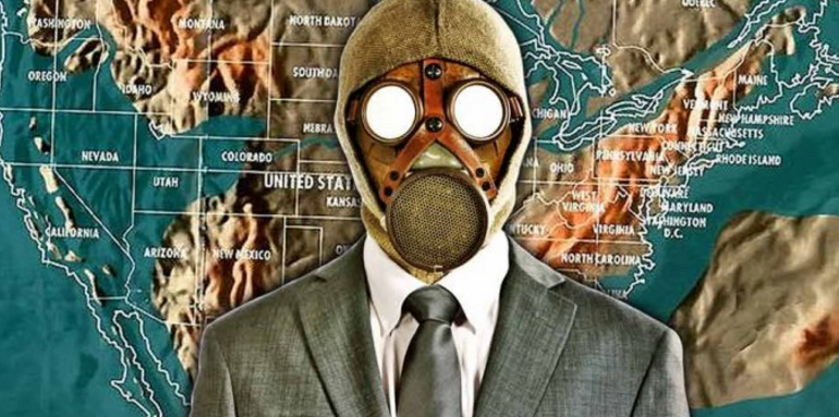 NASA Verified 'Doomsday' Map Reveals Why The Govt & Super Rich Are Now 'Preppers'