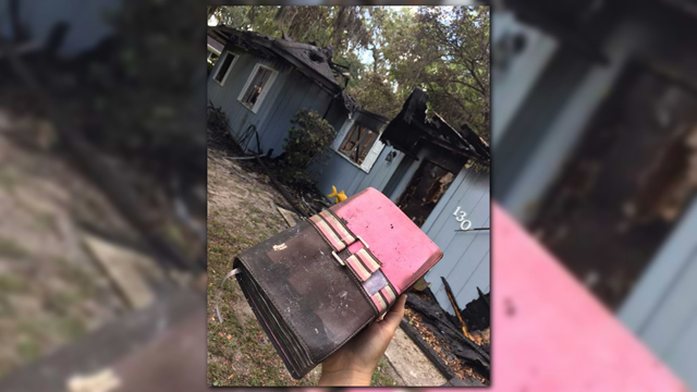 Georgia Family Loses Everything In A Fire, Except A Bible