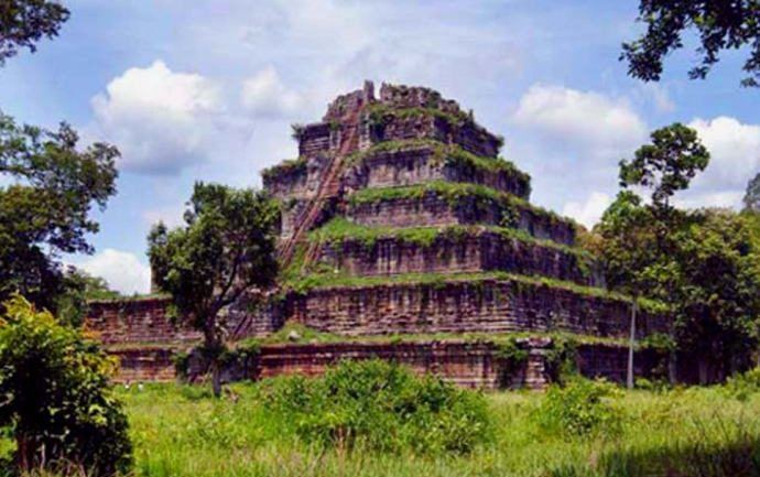 Mysterious Story of The Koh Ker Pyramid in Cambodia