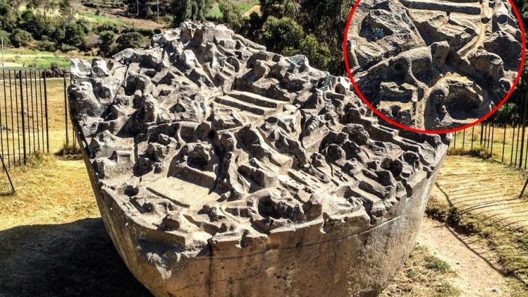 The Sayhuite Stone—A Massive Boulder With Over 200 Geometric and Zoomorphic Figures