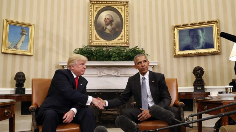 """Obama Showed Trump """"The Film"""" During Private White House Meeting"""