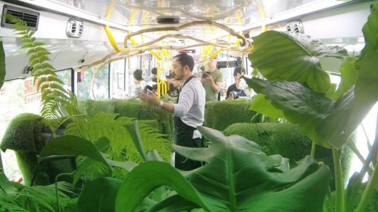 Taipei's New 'Forest Bus' Is The Best Bus In The World