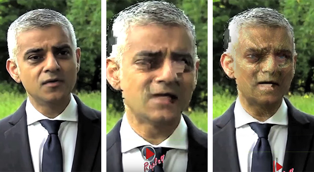 Video of London Mayor Shapeshifting Into Reptile on Live TV Goes Viral