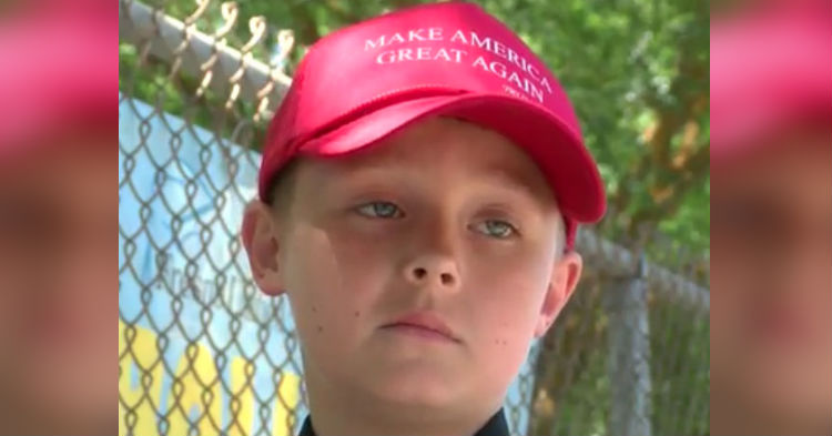 Parents Appalled Over Punishment Principal Hands 9 Year Old For Wearing MAGA Hat