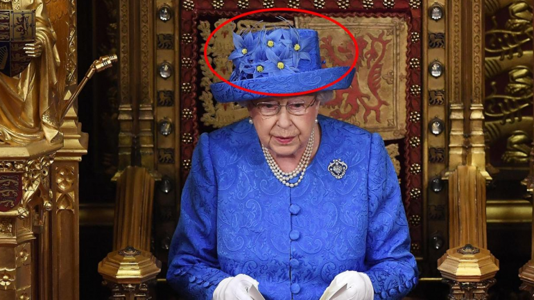 People Are Convinced The Queen's Hat Is A Secret Message