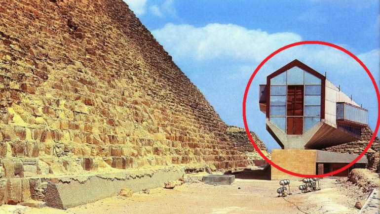 "A ""Flying"" Solar Ship, Buried At The Foot Of The Great Pyramid Of Giza"