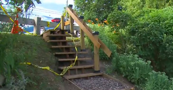 Man Builds Park Stairs For $550 After City Gives $65,000 Estimate