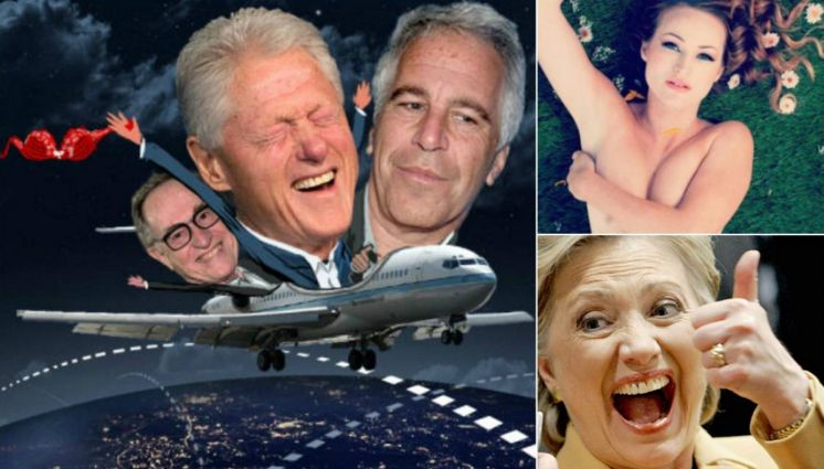 Why Did Hillary Clinton Visit Jeffrey Epstein's Pedophilia Island 6 Times Via The Lolita Express?