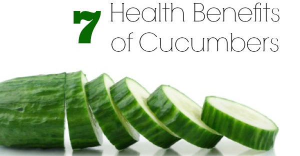 7 Compelling Health Benefits To Eating Cucumber