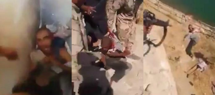 Graphic Video: Iraqi Soldiers Take Revenge, Torture & Execute Pleading ISIS Militant