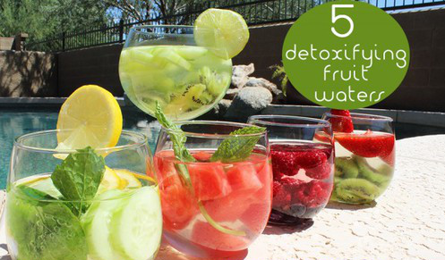 Five Best Detox Fruit Waters For Energy & Cleansing