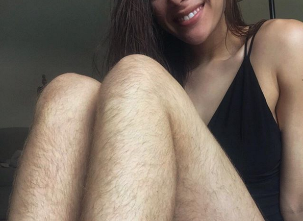 Blogger Spends A Year Without Shaving And Her Photos Provoke Huge Internet Buzz