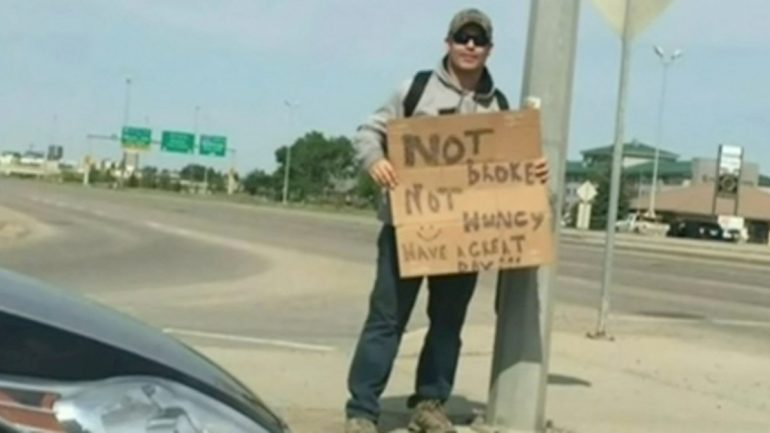 Motorist Spares Change For A Homeless Man….. Here's Why He Is Pulled Over By Cops And Ticketed