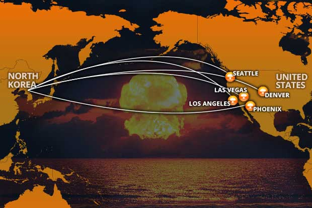 Expert John Schilling Claims That When All The Bugs Are Worked Out The North Korean Missile Will Be Able To Reach Us Ss