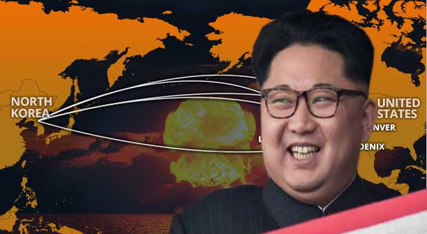 Map Reveals North Korea's Missile Can Reach Las Vegas & 8 Other US Cities
